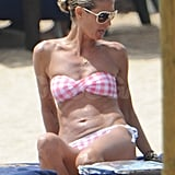 Heidi Klum Brings Out a Pink Bikini For Sardinian Fun With the Family