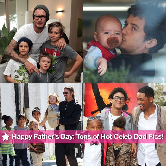 Pictures of Hot Celebrity Dads in Honor of Father's Day