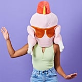 Friends Turkey Mask With Fez Halloween Costume