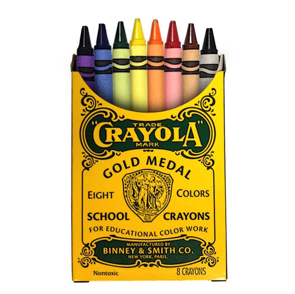 Not only are Crayola crayons still made here in the US, you can even take your kids to watch the manufacturing process in action at the Crayola Experience in Lehigh Valley, PA! We're loving the brand's Nostalgia Tin ($3), representing the brand's original packaging from the turn of the century.