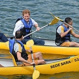 When He Had to Kayak in Jeans