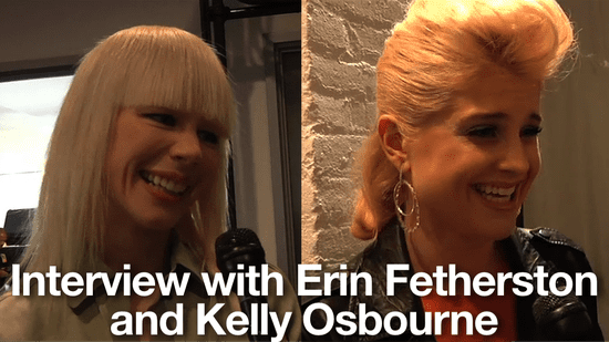 Spring 2011 New York Fashion Week Interview: Erin Fetherston and Kelly Osbourne