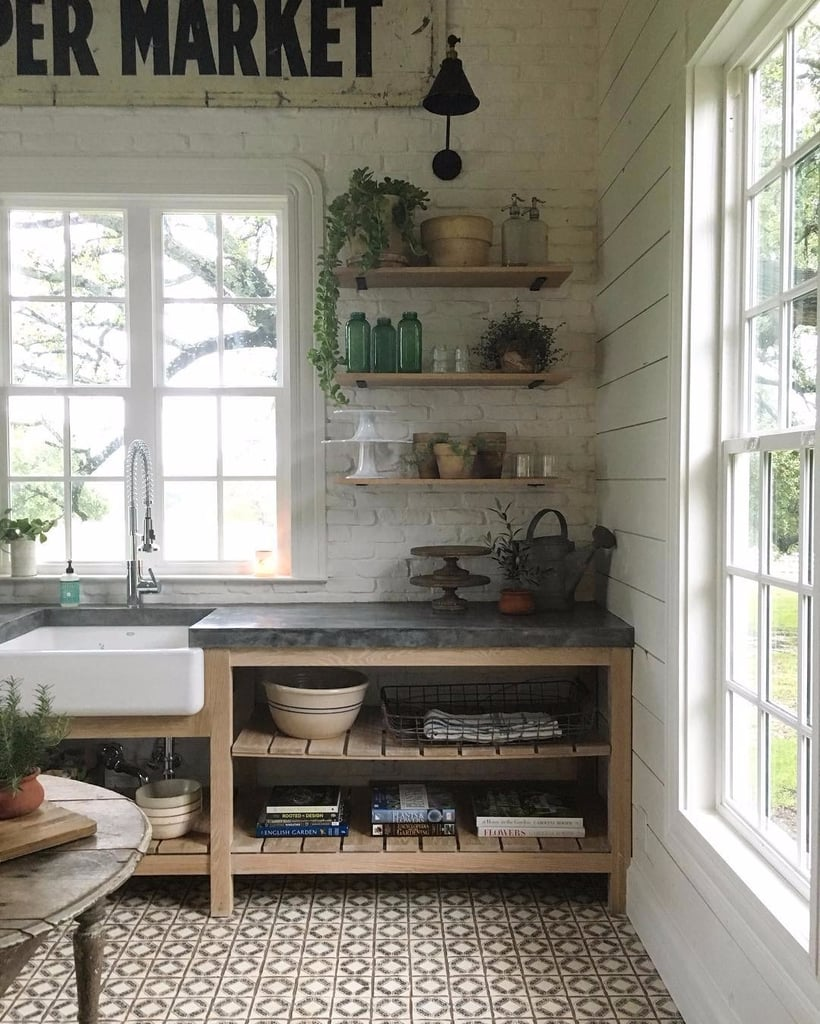 Joanna Gaines Kitchens And Galley: Joanna Gaines's Organisation Tricks