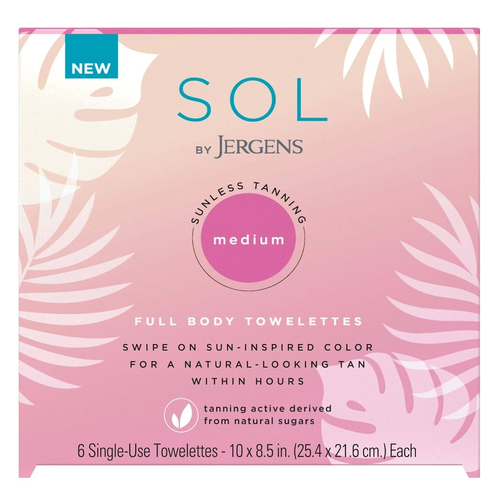SOL by Jergens Tanning Body Towelettes