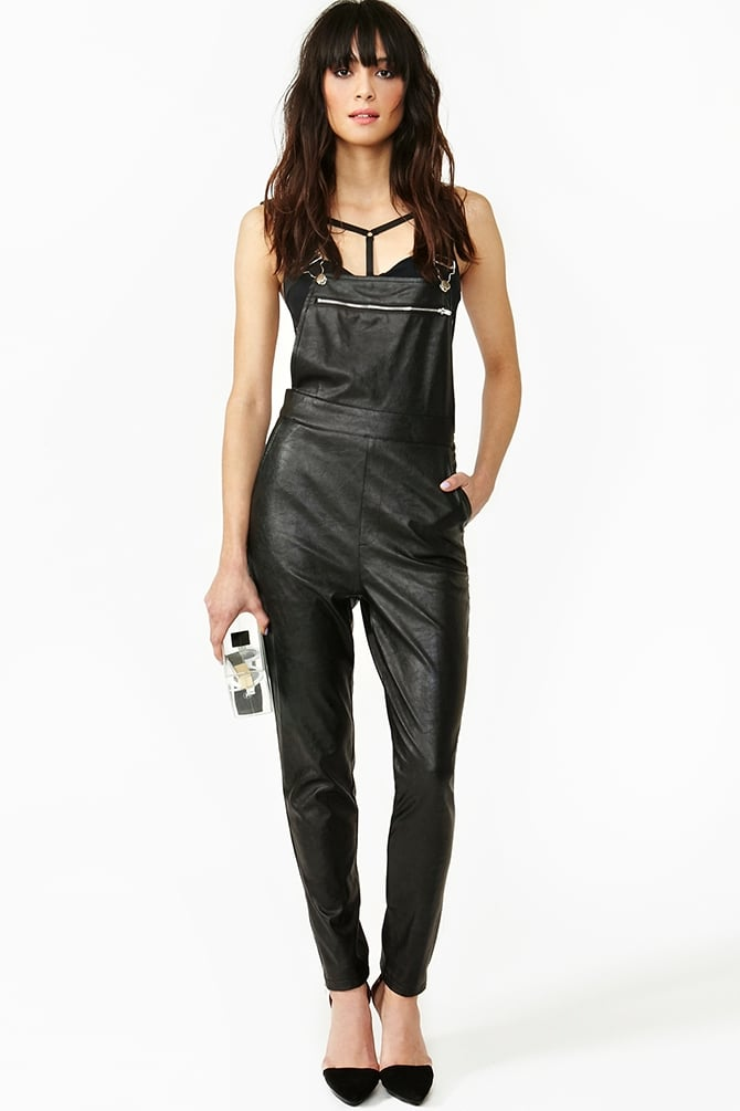 Since we can't afford Phillip Lim's rendition, these Nasty Gal overalls ($78) are a close contender.
