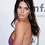 Kendall Jenner Half Updo