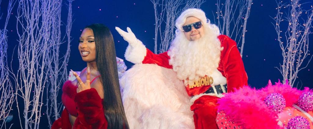 "Watch Megan Thee Stallion, James Corden ""Savage Santa"" Remix"