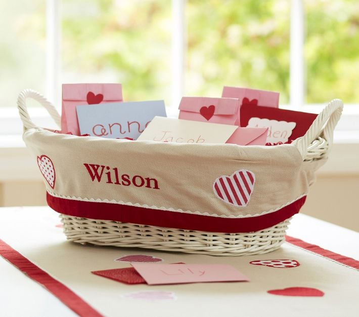 Pottery Barn Kids Valentine's Day Treat Basket