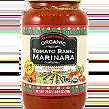 Organic Tomato Basil Marinara ($2)