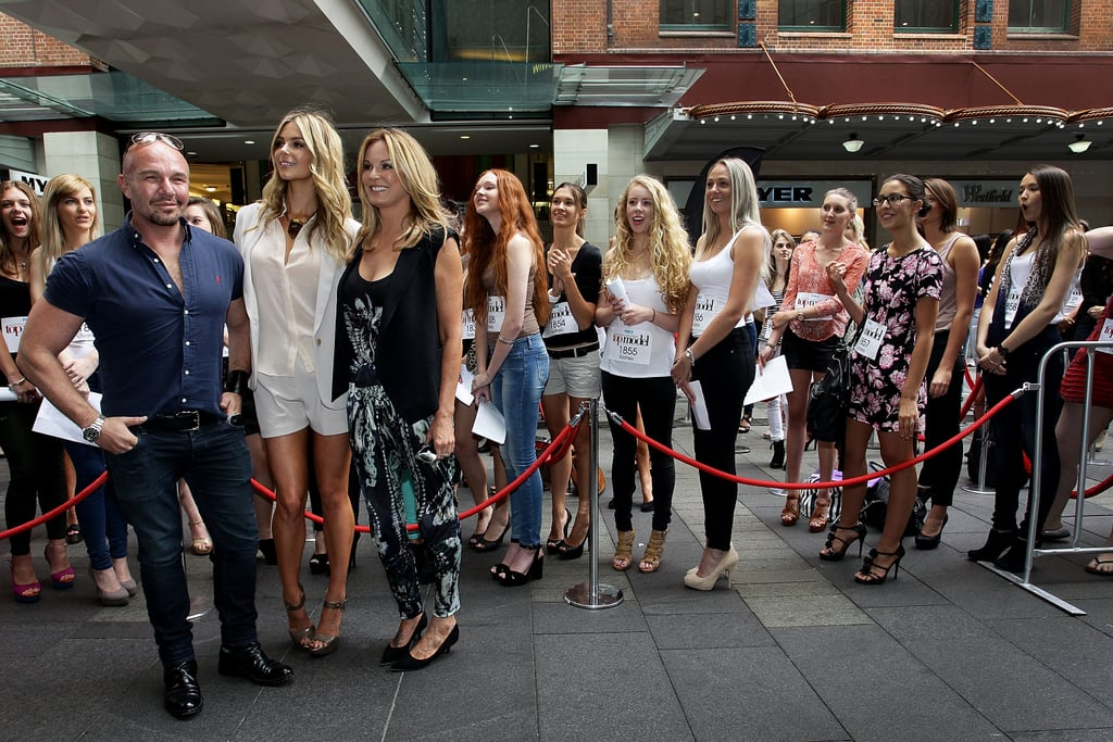 Alex Perry, Jennifer Hawkins and Charlotte Dawson
