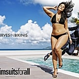 """I felt free once I realized I was never going to fit the narrow mold that society wanted me to fit in."" Photo: Ashley Graham starring in the SwimsuitsForAll campaign, which appeared in the Sports Illustrated Swimsuit Issue."