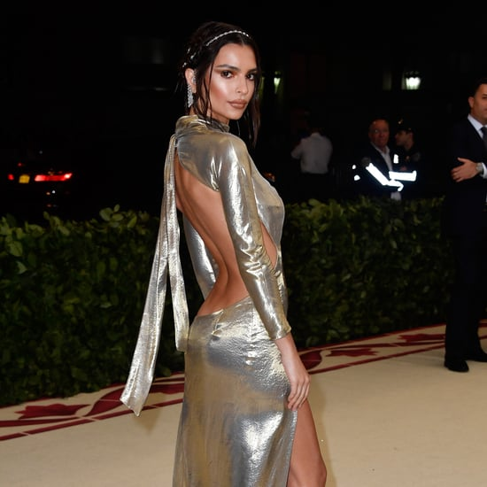 Emily Ratajkowski Met Gala Dress 2018