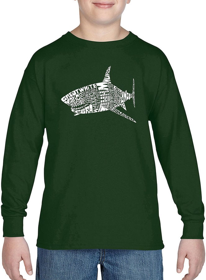 Pop Art Popular Species of Shark Graphic T-Shirt
