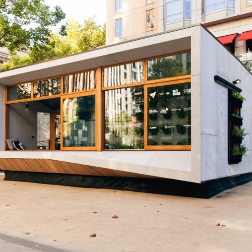 The World's First Carbon-Positive Prefab House