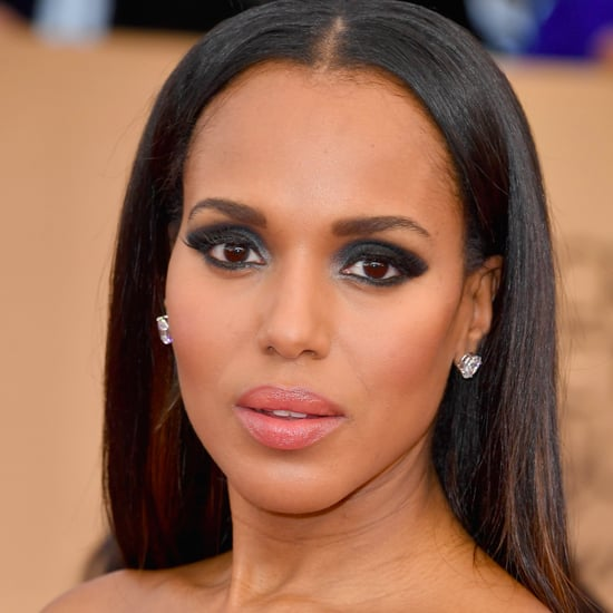 Kerry Washington Hair and Makeup at the 2017 SAG Awards