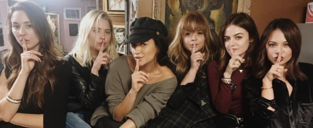 The Entire Pretty Little Liars Cast Just Got the Ring You Always Wanted