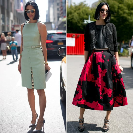 fashion editor street style pictures popsugar fashion