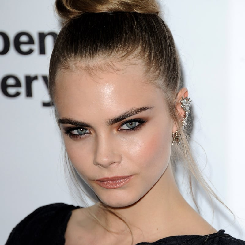 Cara Delevingnes Brown Smoky Eye 10 Hair And Makeup Celebrity