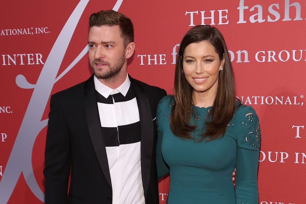 Jessica Biel and Justin Timberlake at Night of Stars Event