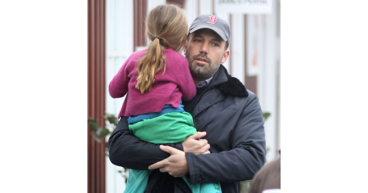 Ben Affleck With Daughter Seraphina in LA | Pictures ...