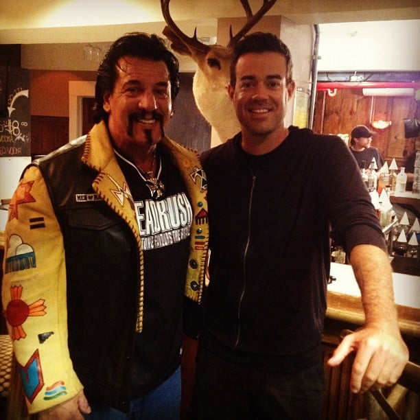 Carson Daly Interviewed Chuck Zito Cute Candids Celebrities