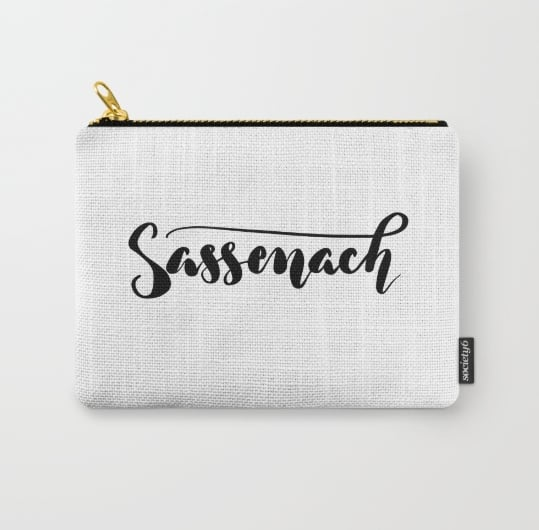 Sassenach Carry-All Pouch ($14)