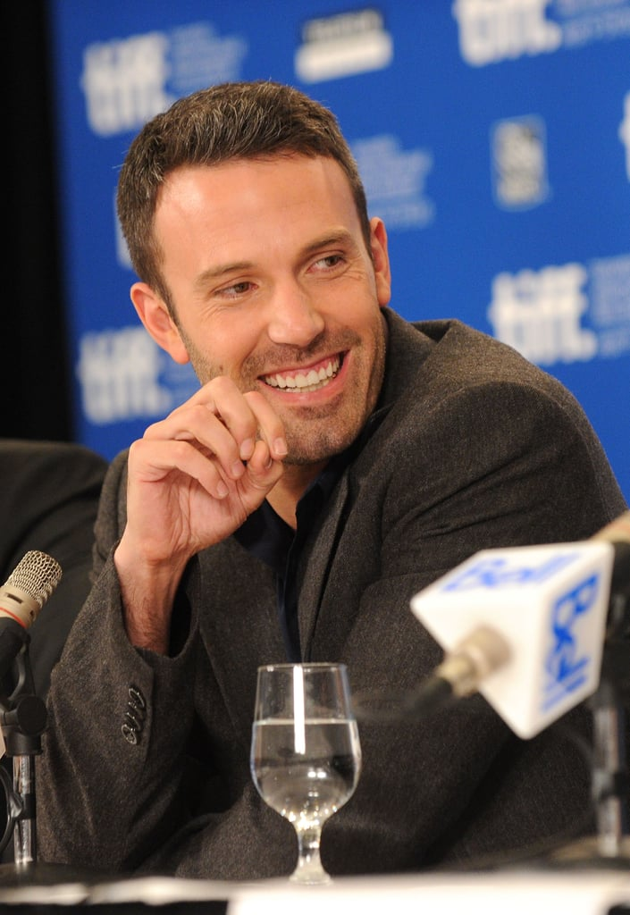 Ben Affleck chatted with press at the September 2010 Toronto International Film Festival.