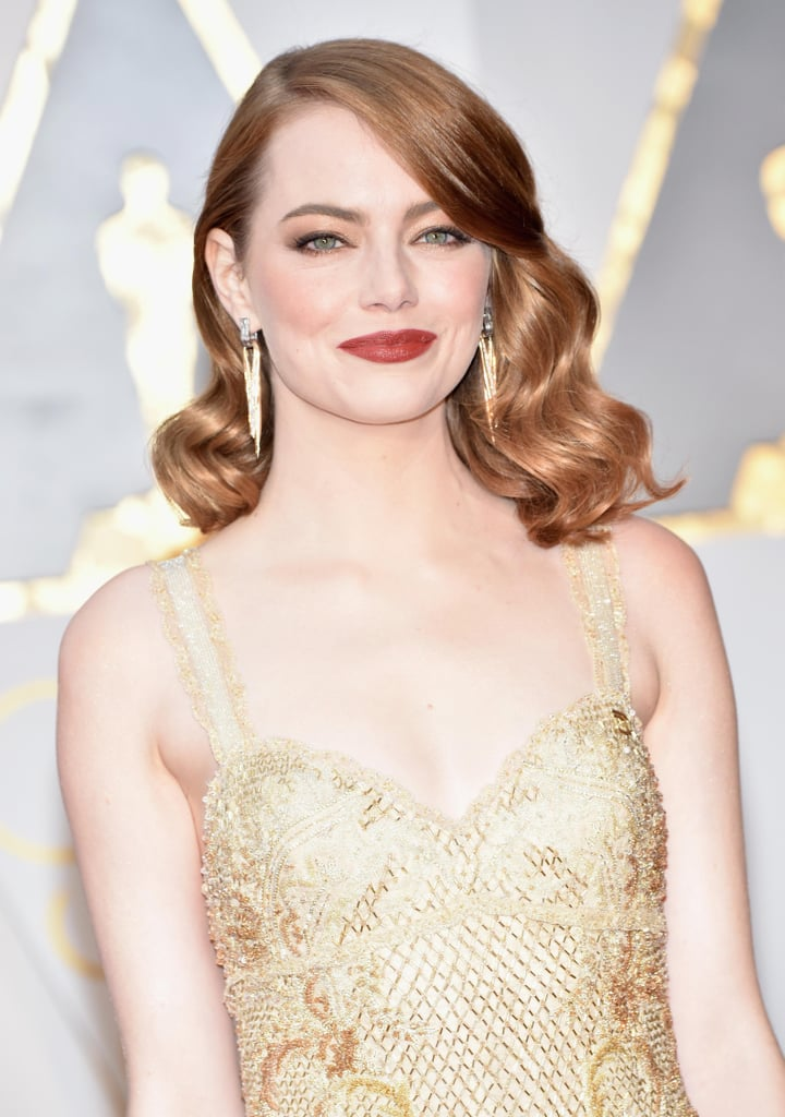 These Oscars Red Carpet Beauty Looks Are Worth a Triple Take