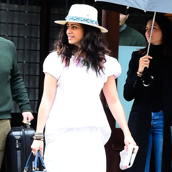 Camila Alves Wearing White April 2017