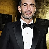 Marc Jacobs wore a tuxedo to the British Fashion Awards.