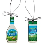 Hidden Valley Ranch Bottle and Shaker Ornaments