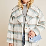 Elsa Plaid Coat