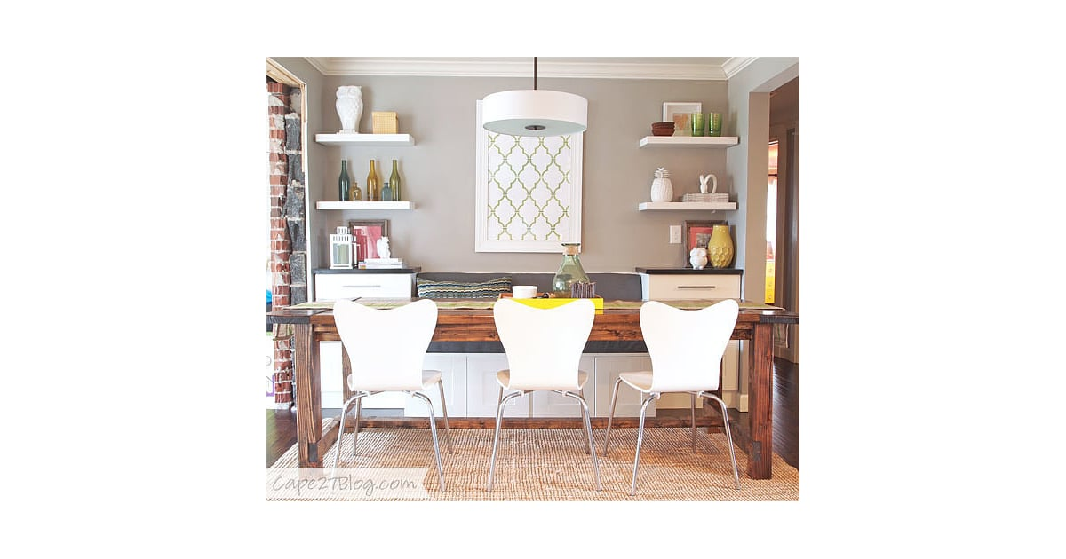 Diy a cozy dining banquette ikea kitchen cabinets for Diy cozy homes