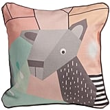 Nurseryworks Nursery Works Menagerie Cubist Print Toddler Pillow