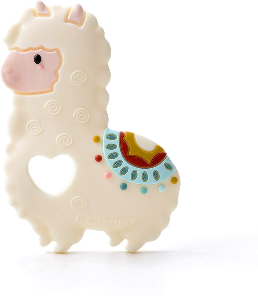 For Infants: Loulou Lollipop Llama Soft Silicone Teether