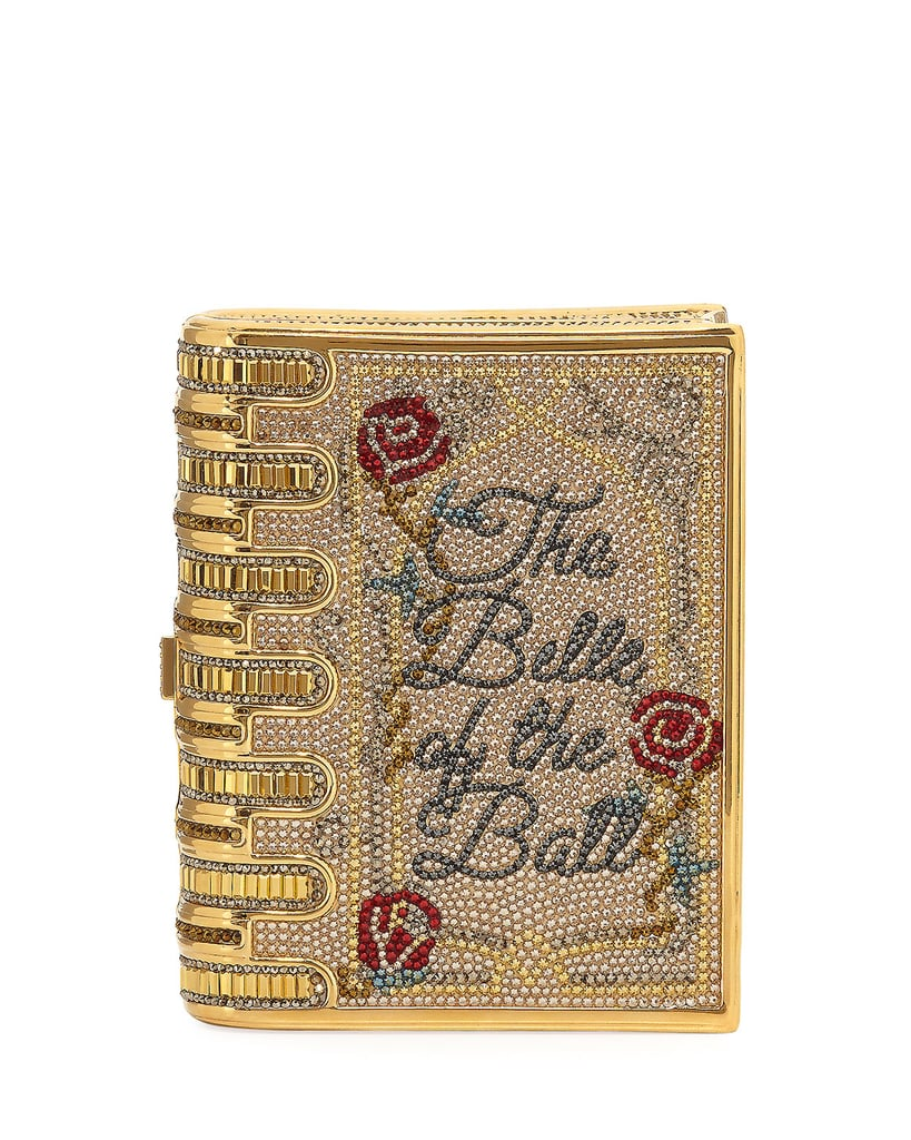 Judith Leiber Couture Disney's Beauty and the Beast Book Clutch Bag