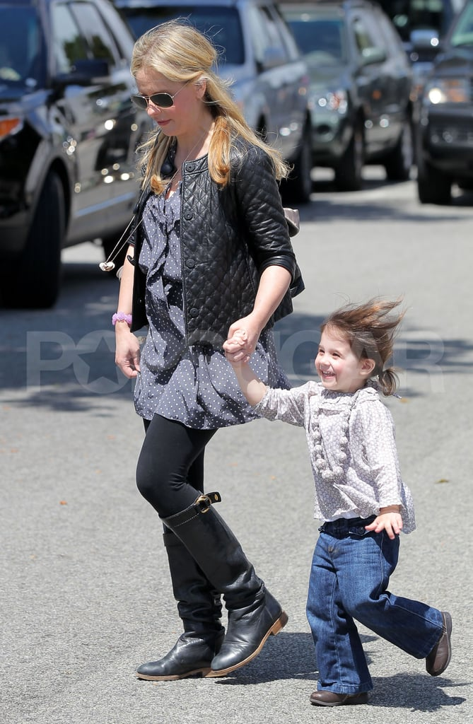 Sarah Michelle Gellar went out in LA with daughter Charlotte Prinze.