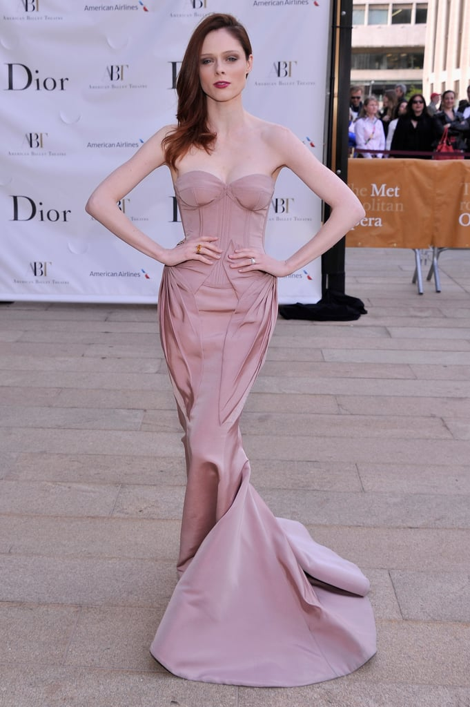 Coco Rocha was every bit the glamazon in a petal-pink Zac Posen gown at the American Ballet Theatre Opening Night Spring Gala.