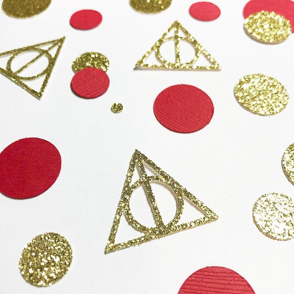 Deathly Hallows Confetti