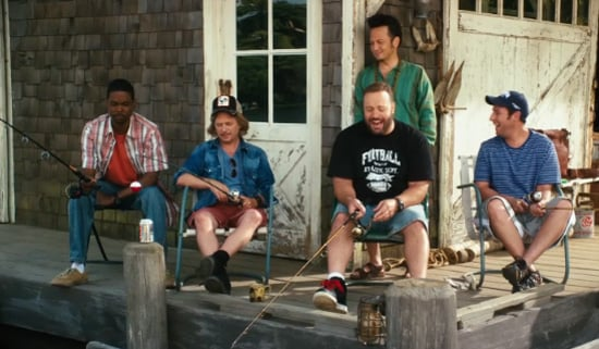 Video Trailer of Adam Sandler and Chris Rock in Grown Ups 2009-11-13 11:30:36