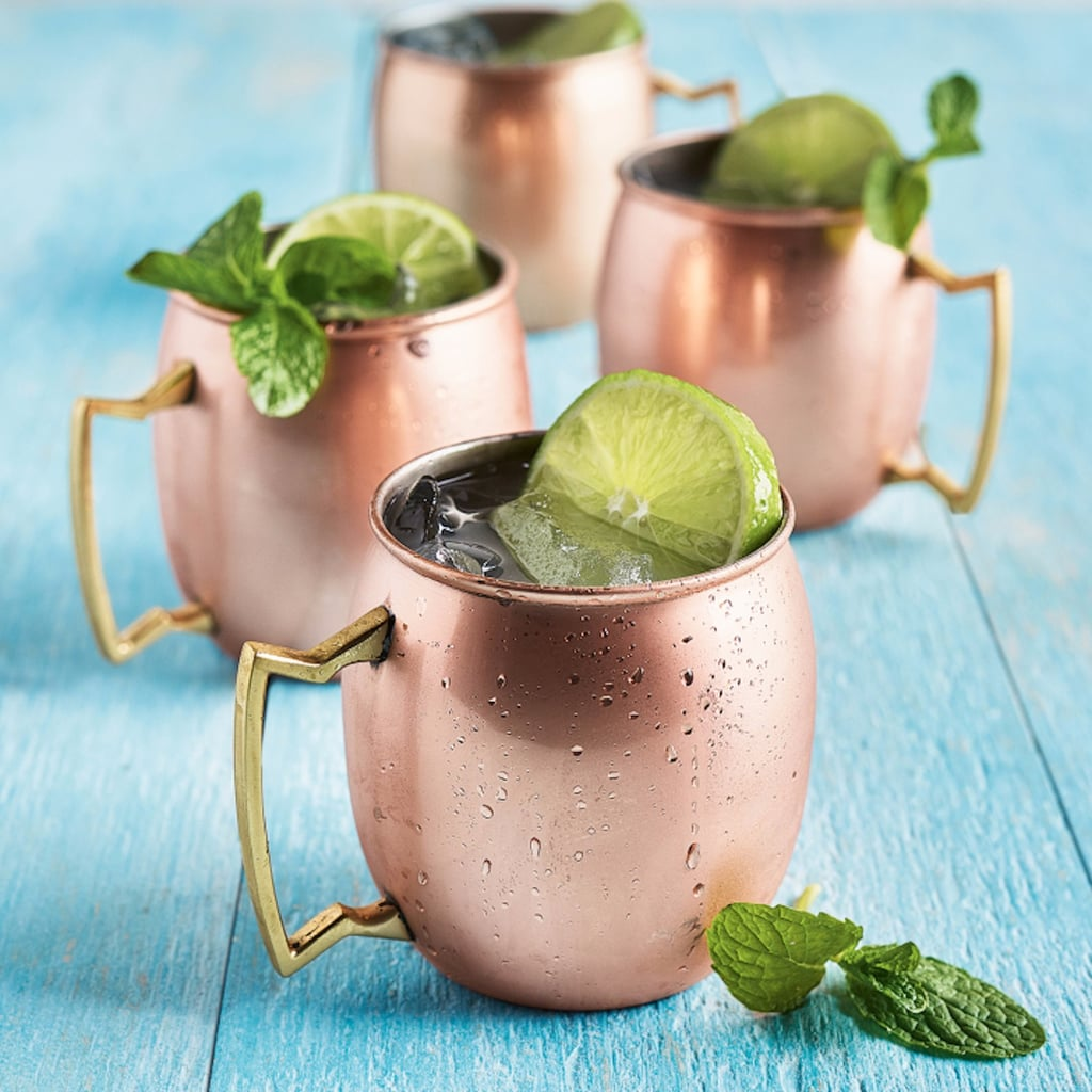 World Market Marble Paddle Cutting Board With Copper Handle 5 Products You Need To Create A Moscow Mule Masterpiece Popsugar Food Photo 5