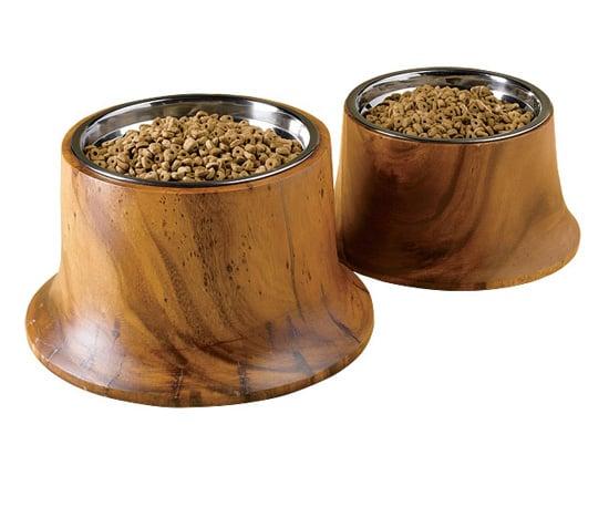 Acacia Wood Feeder