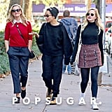 Reese Witherspoon With Ava Phillippe and Zoe Kravitz in LA