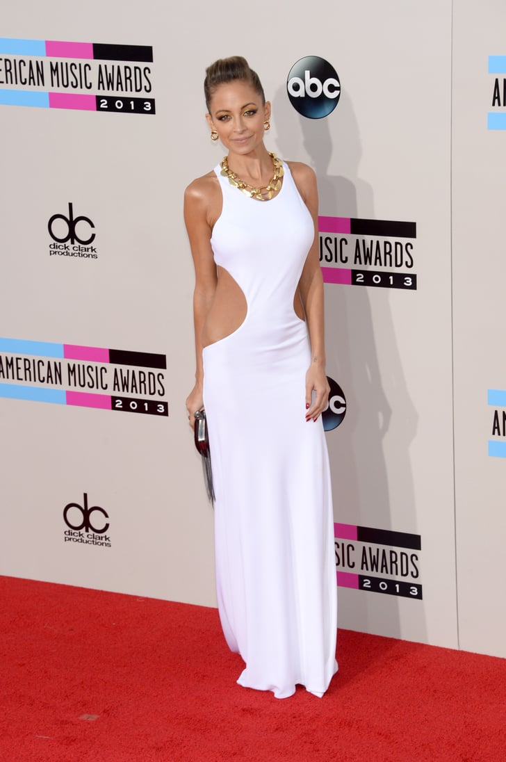 Sexy Sophisticate Nicole Richie Glowed In A Body Hugging