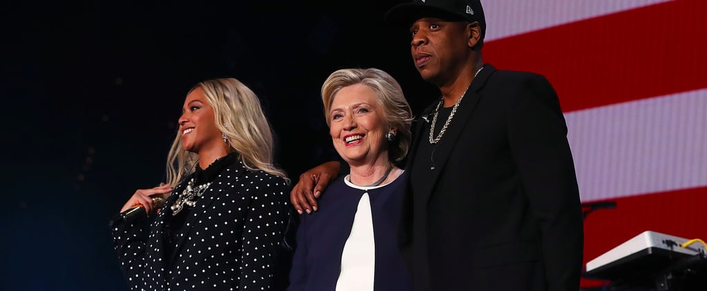 Beyoncé and Jay Z Help Hillary Clinton Host a Star-Studded Campaign Concert in Cleveland