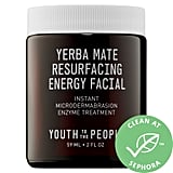 Youth To The People Yerba Mate Resurfacing + Exfoliating Energy Facial With Enzymes