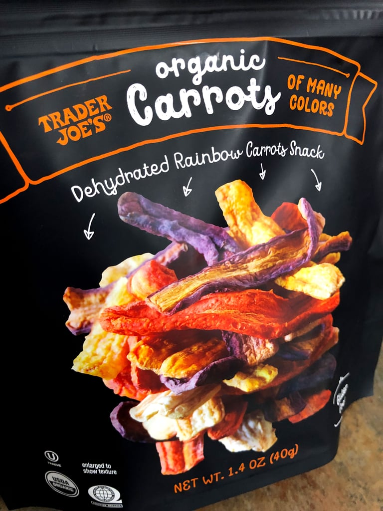 Trader Joe's Organic Dehydrated Rainbow Carrots Snack Review