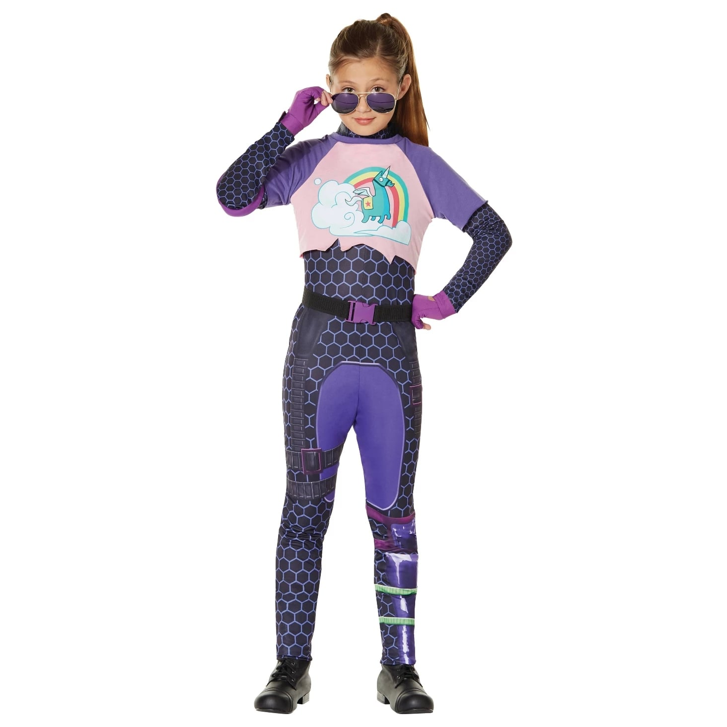 Kids\u0027 Fortnite Brite Bomber Halloween Costume