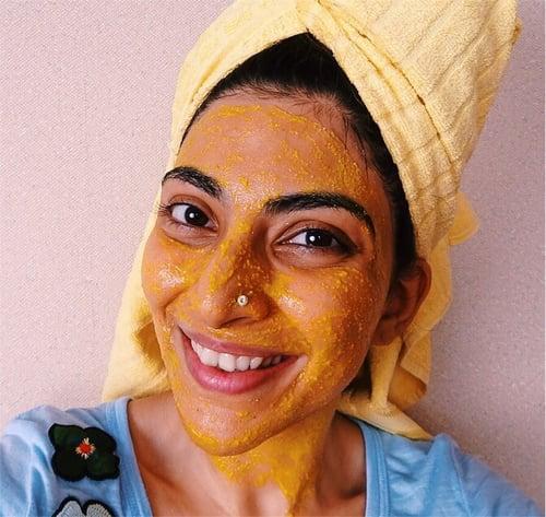 3 Natural Diy Face Masks That Desi Girls Swear By For Glowing Skin Popsugar Beauty