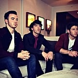 The Jonas brothers took a candid shot together. Source: Instagram user joejonas